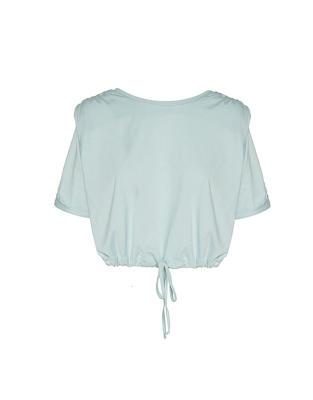 TOP WITH DRAWSTRING