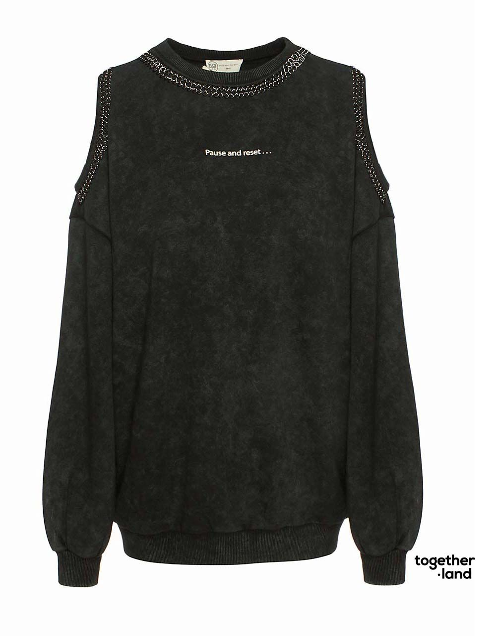 SWEATER WITH CHAIN - TOGETHERLAND