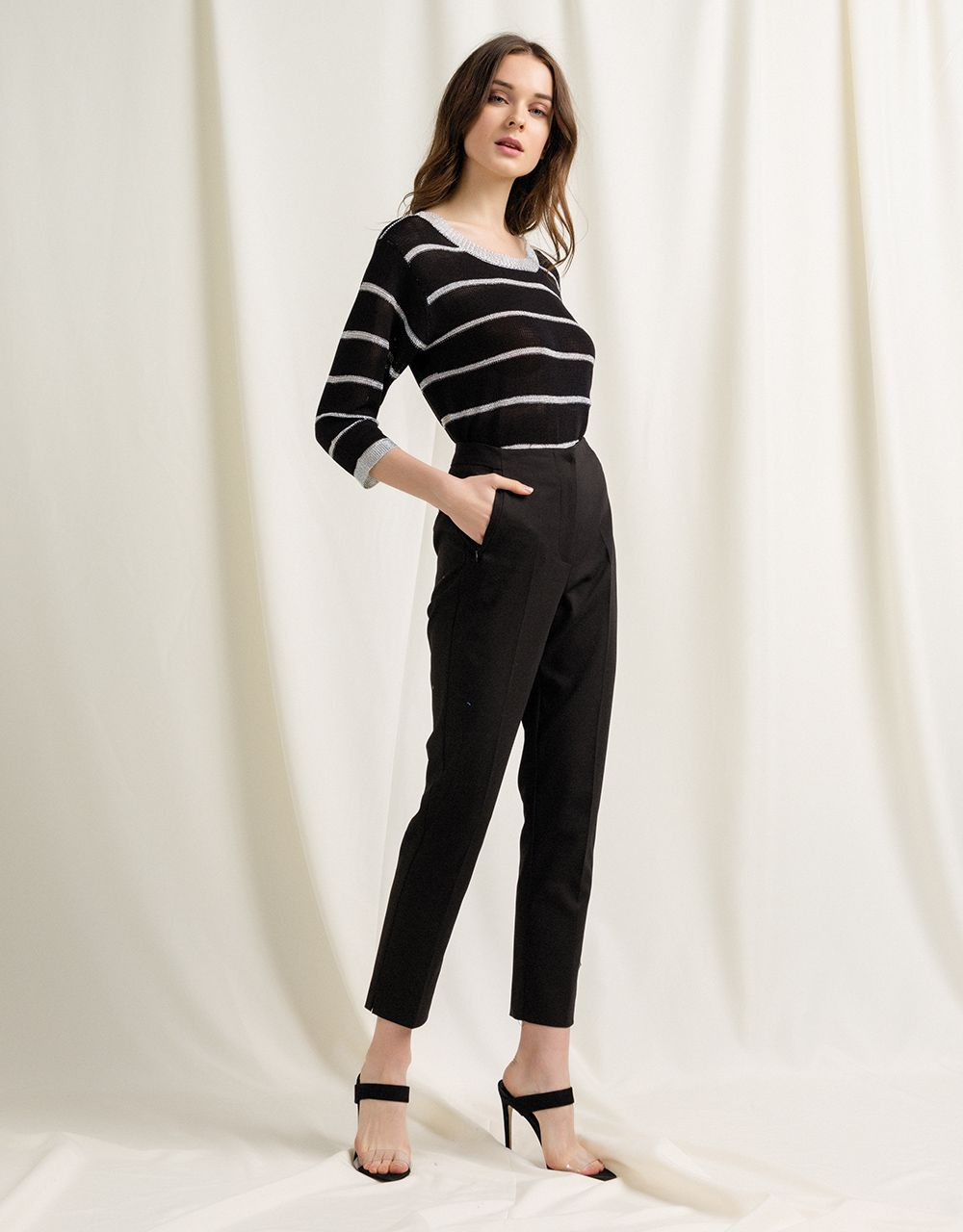 HIGH WAISTED CLASSIC TROUSERS