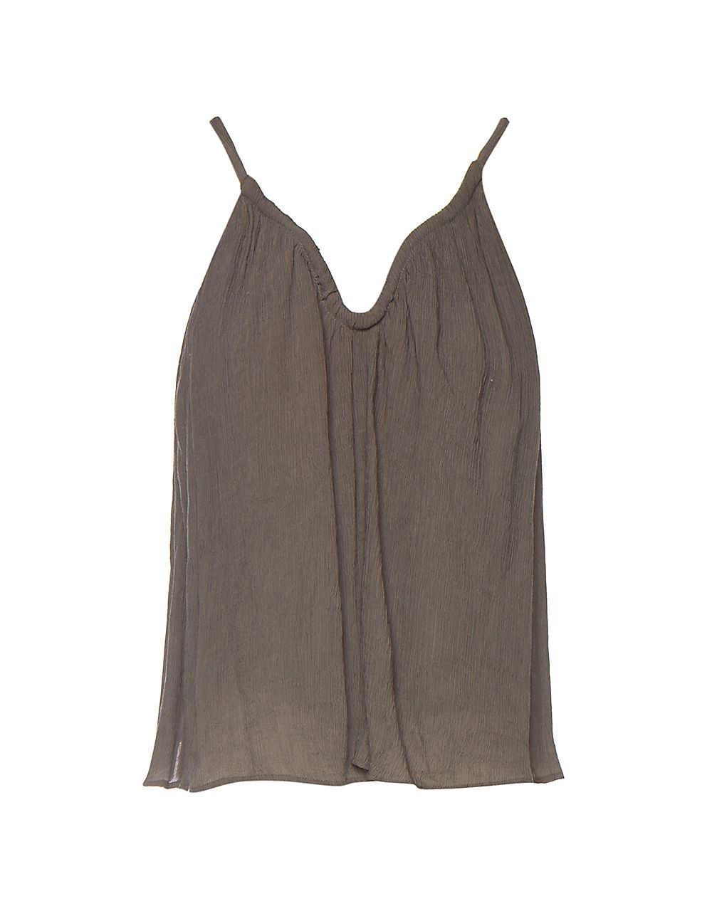 WRINKLED STRAPPY TOP