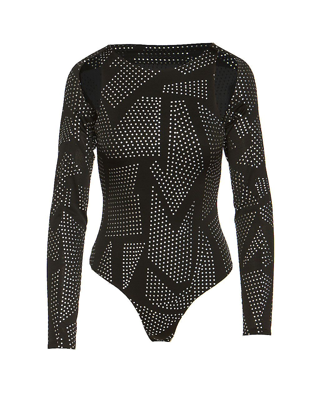BODYSUIT WITH REMOVABLE CARDIGAN