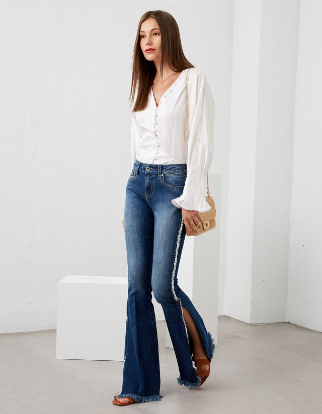 MELISSA FLARED JEANS