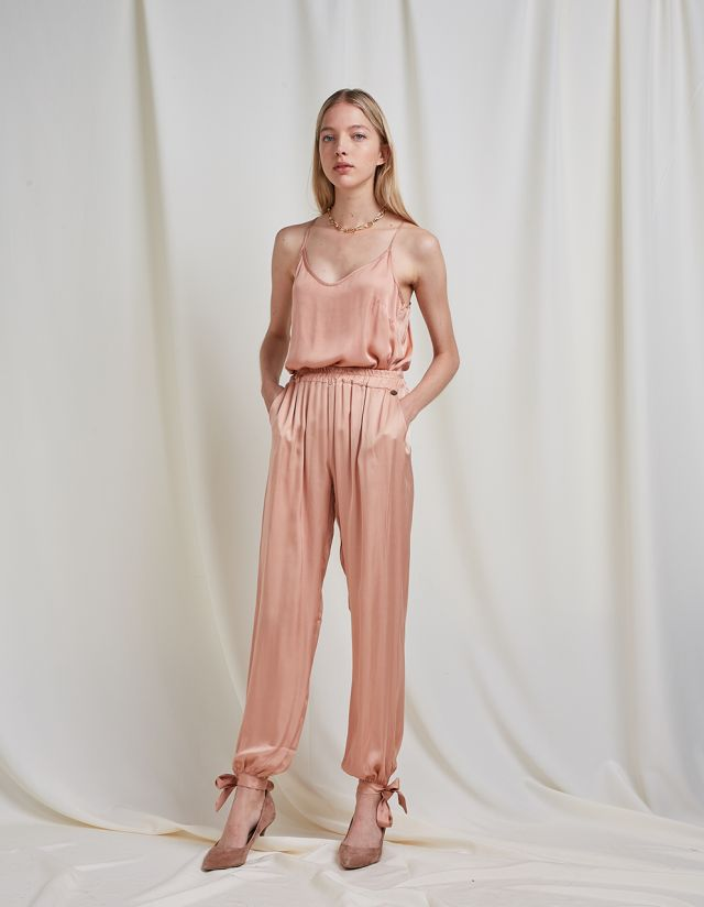SATIN TOUCH TROUSERS