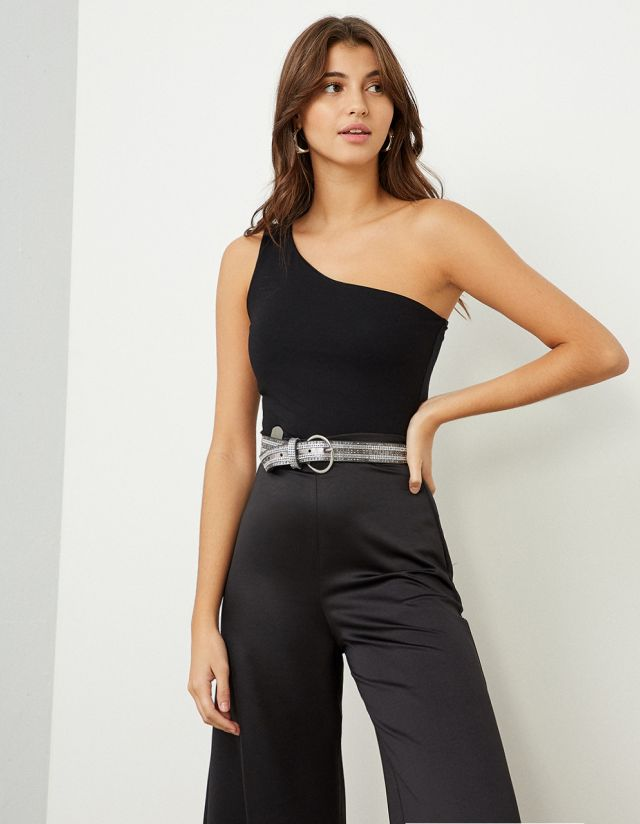 BASIC ONE-SHOULDER TOP