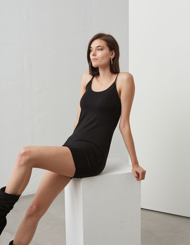 BASIC MINI DRESS