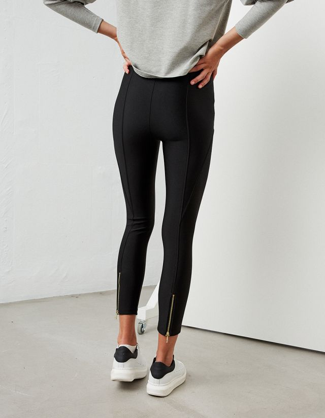 LEGGINGS WITH ZIPPERS