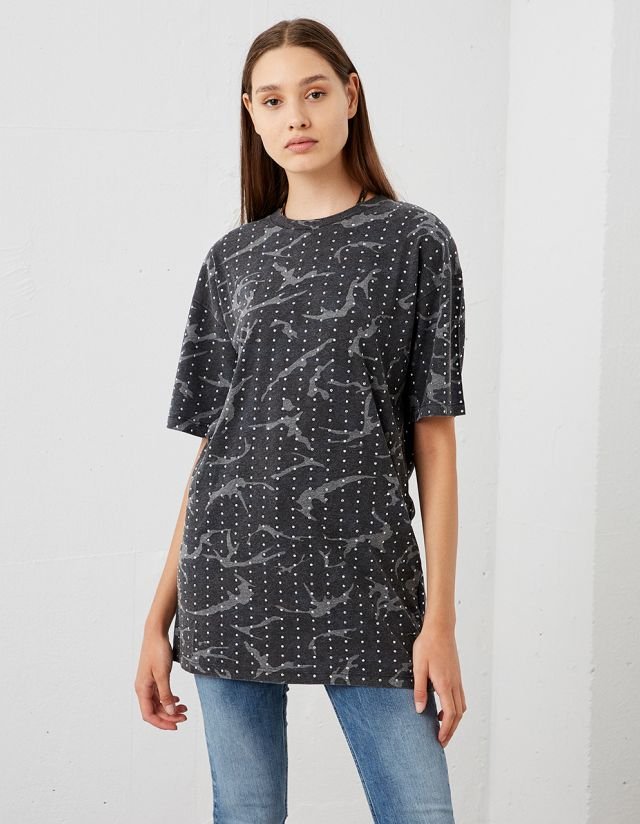 BEJEWELED MILITAIRE T-SHIRT