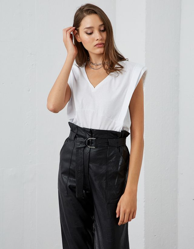 COTTON BOXY FIT TOP