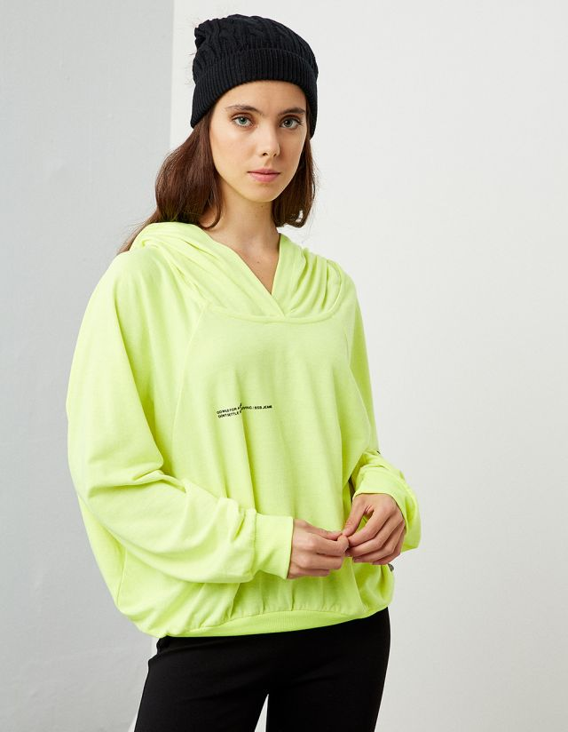 COMFY HOODED SWEATSHIRT