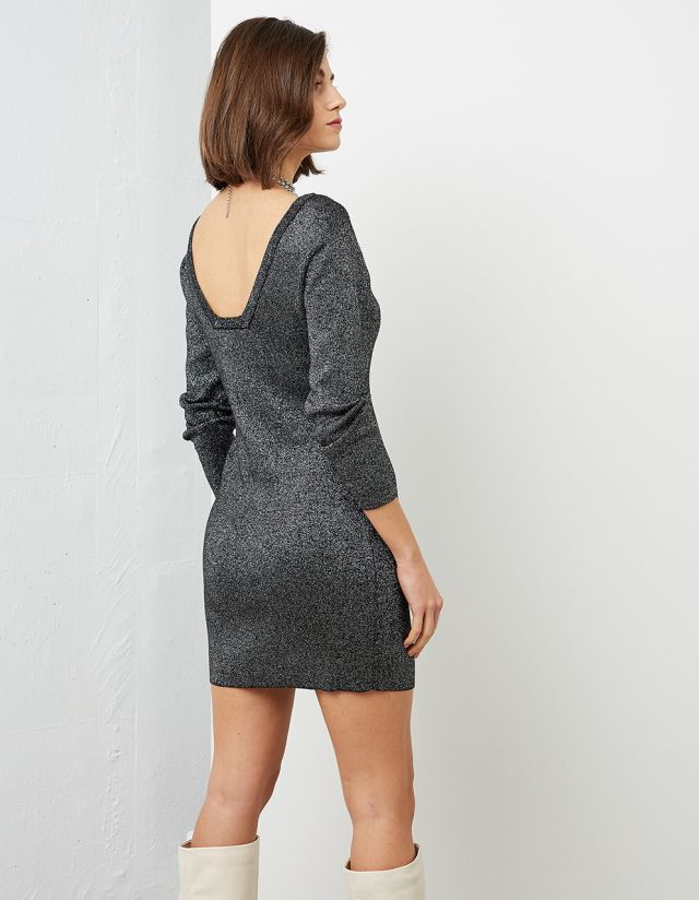 MINI LUREX DRESS