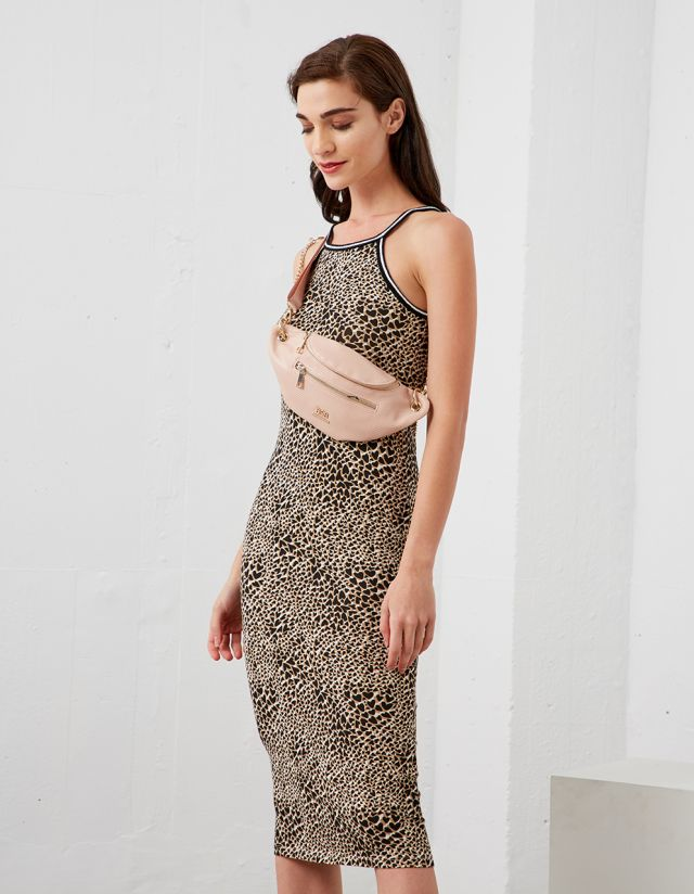 BODYCON ANIMAL PRINT DRESS