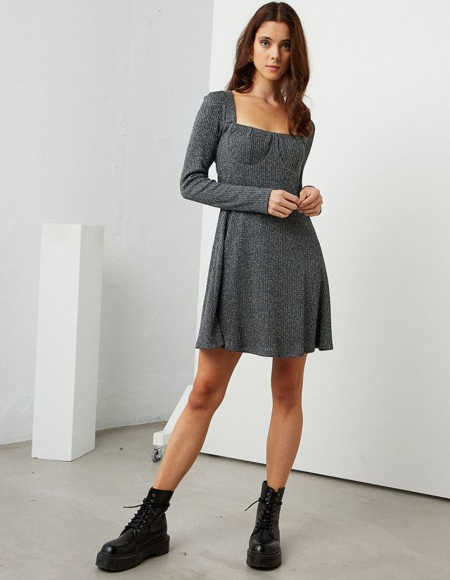 LUREX MINI DRESS