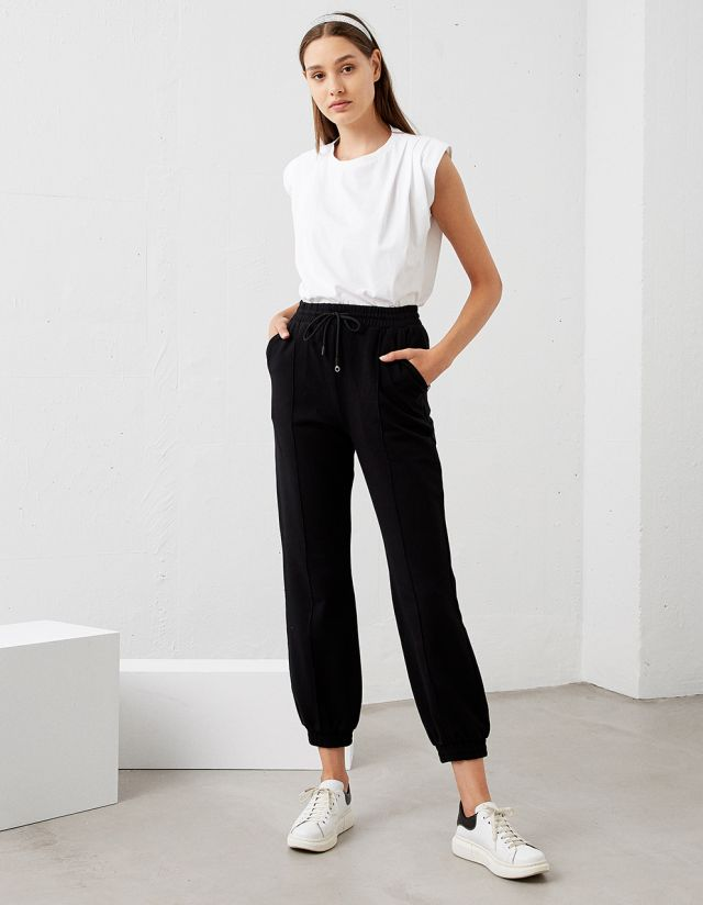 COTTON JOGGER TROUSERS
