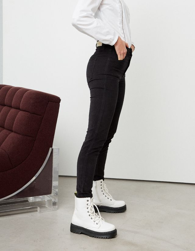 VENICE SKINNY CORDUROY TROUSERS