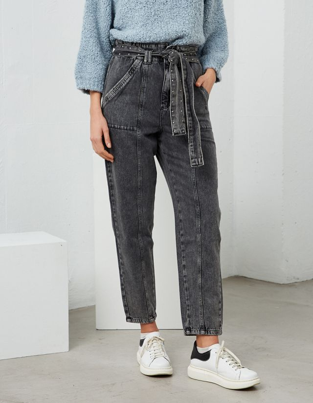 ALICE PAPERBAG JEANS