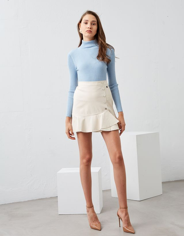 SKIRT WITH BUTTNS