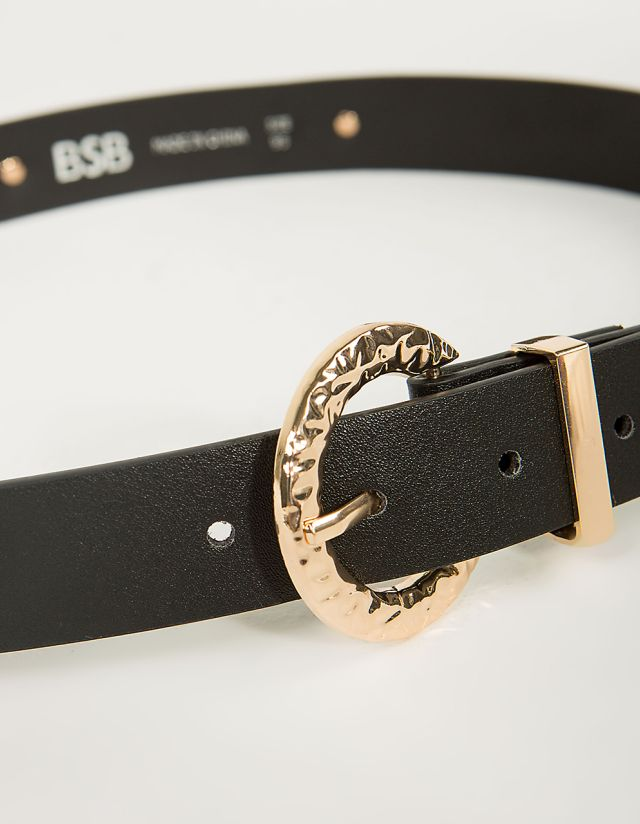 BELT WITH EMBOSSED DETAILS