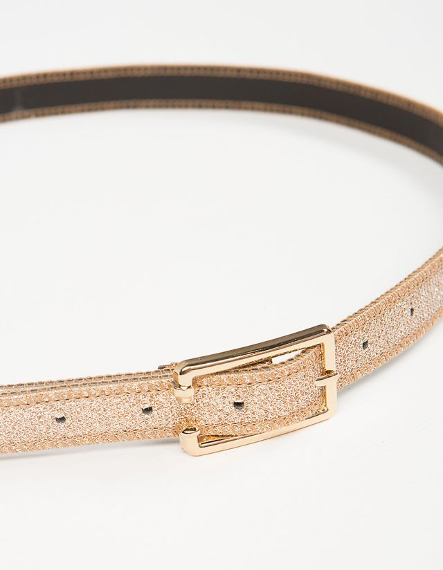 SLIM IRIDESCENT BELT