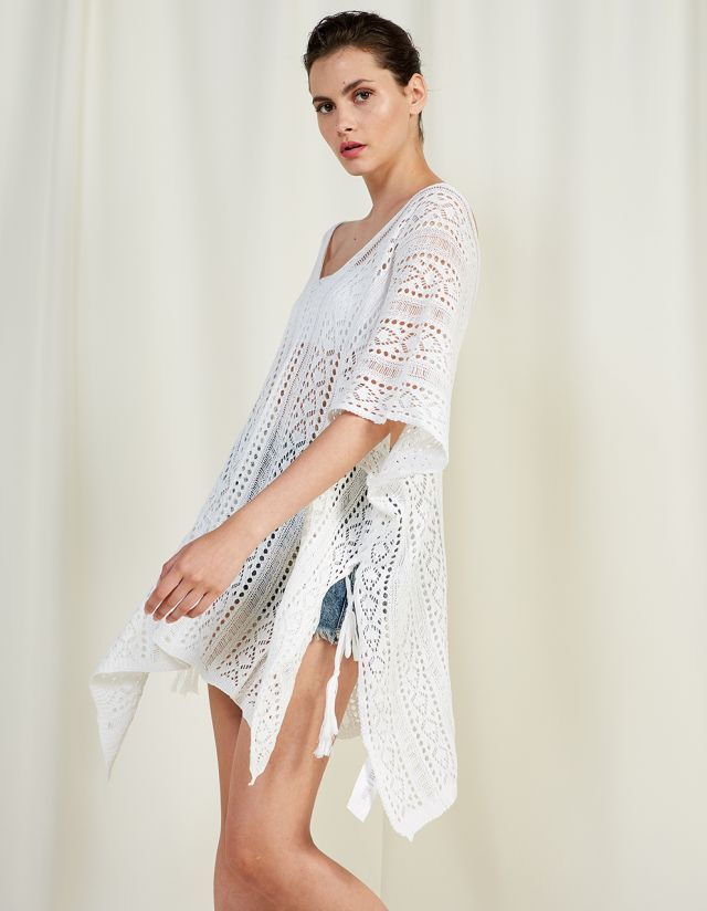 KNITTED KAFTAN