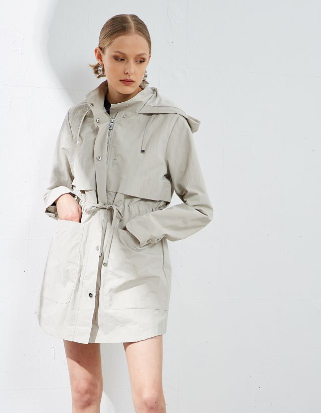 WATER RESISTANT PARKA