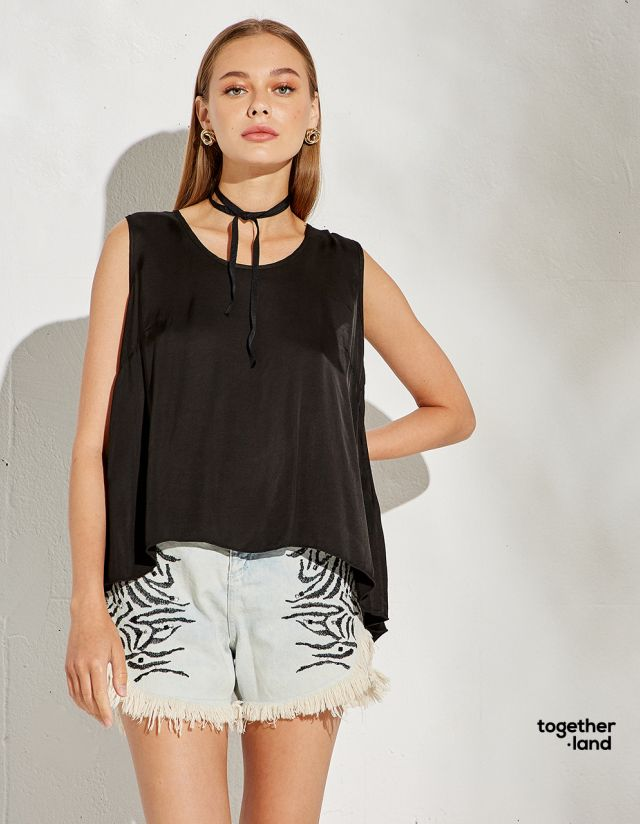 TOP WITH CROSS BACK