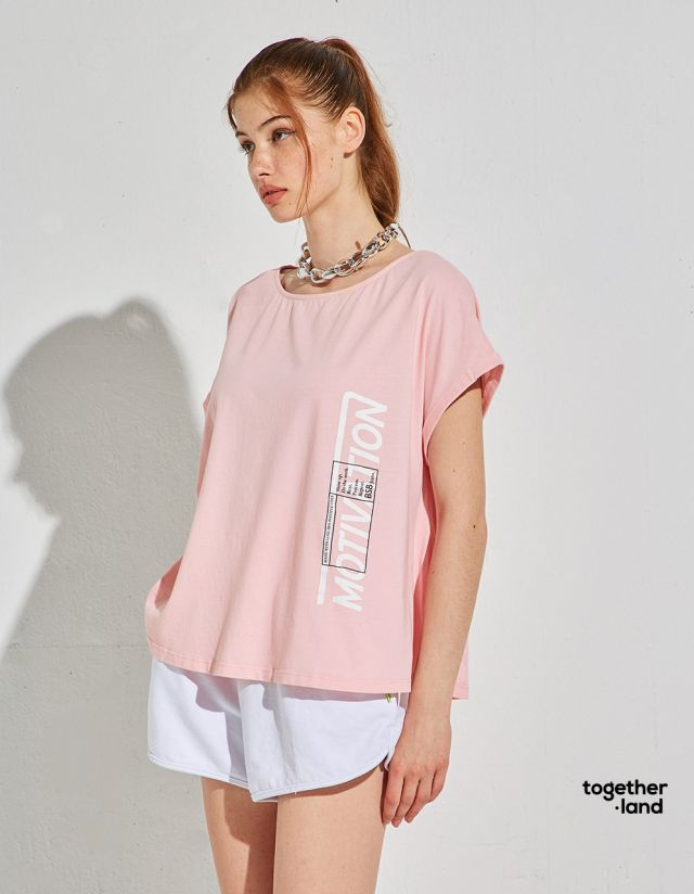 COTTON TOP WITH PRINT