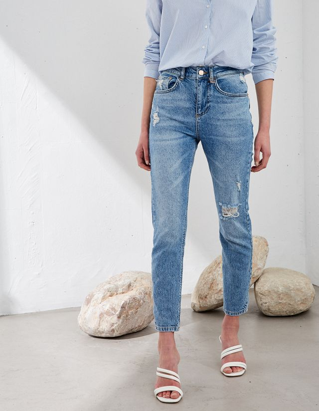 LILLY STRAIGHT JEANS