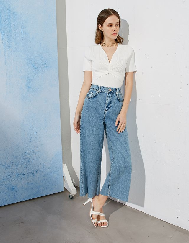 JULIA DENIM CULOTTES