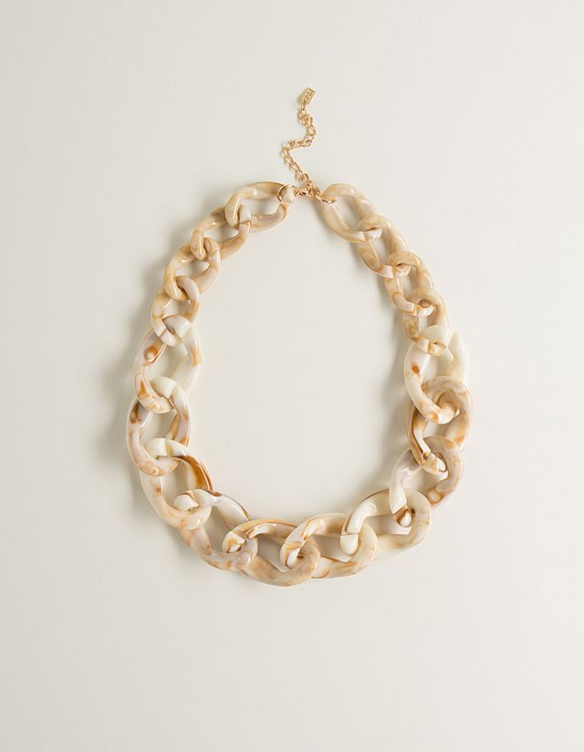 RESIN CHAIN NECKLACE