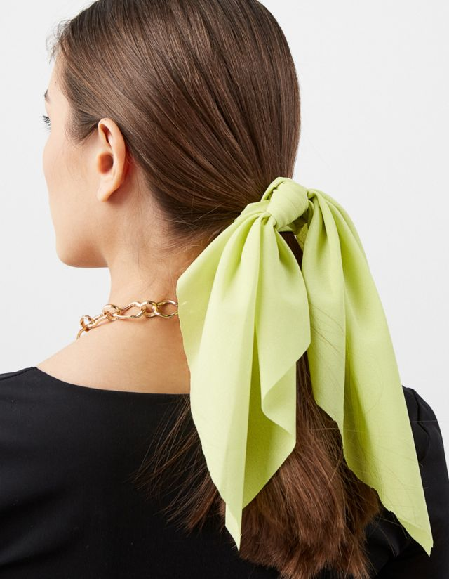 HAIR SCARF SCRUNCHIE