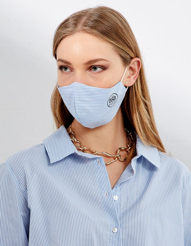 STRIPE PROTECTIVE MASK