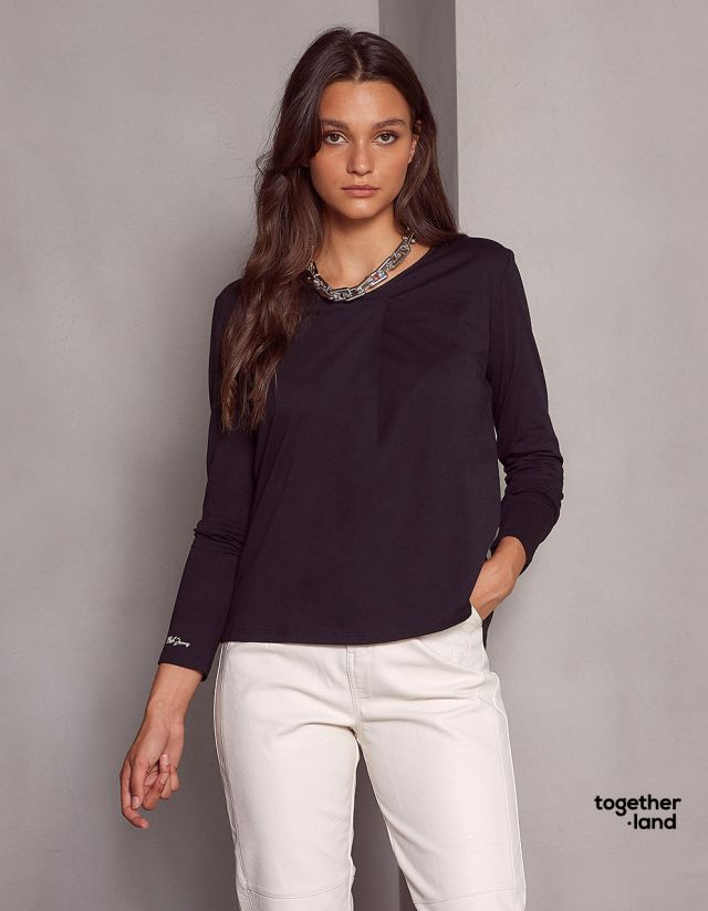 RELAXED COTTON T-SHIRT - TOGETHERLAND