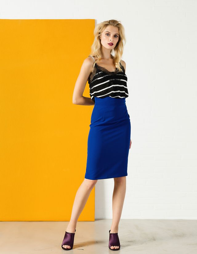 MIDI HIGHWAISTED SKIRT