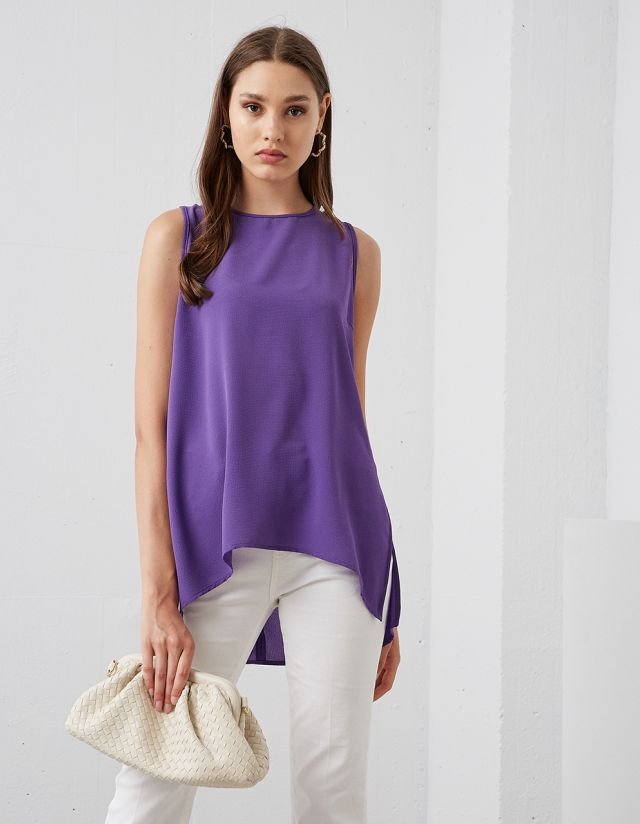 ASYMMETRIC BLOUSE
