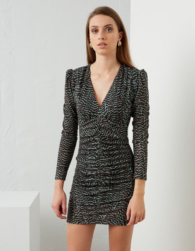 BODYCON WOVEN DRESS