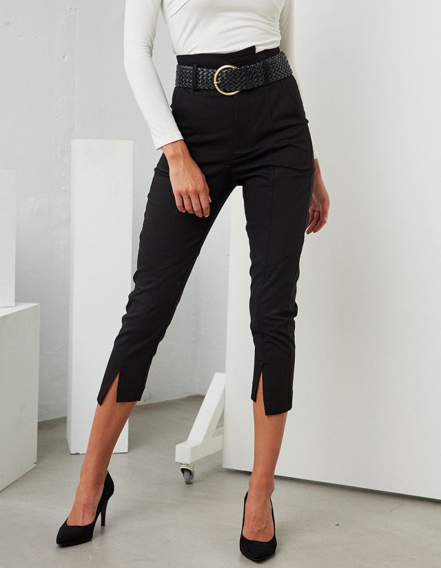 CLASSIC TROUSERS WITH BELT