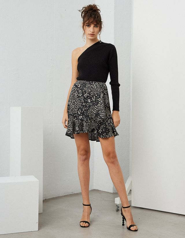 MINI LUREX SKIRT