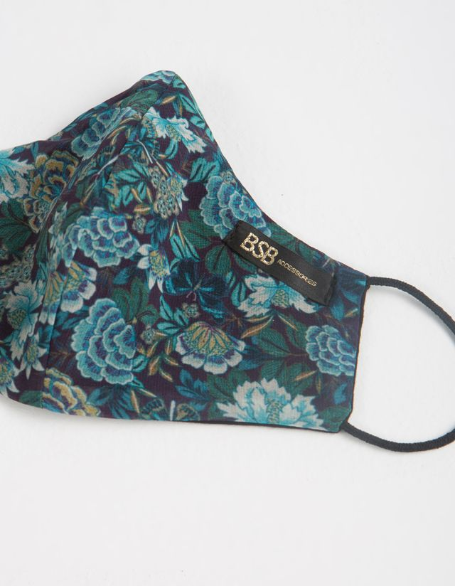 FLORAL PRINT PROTECTIVE MASK