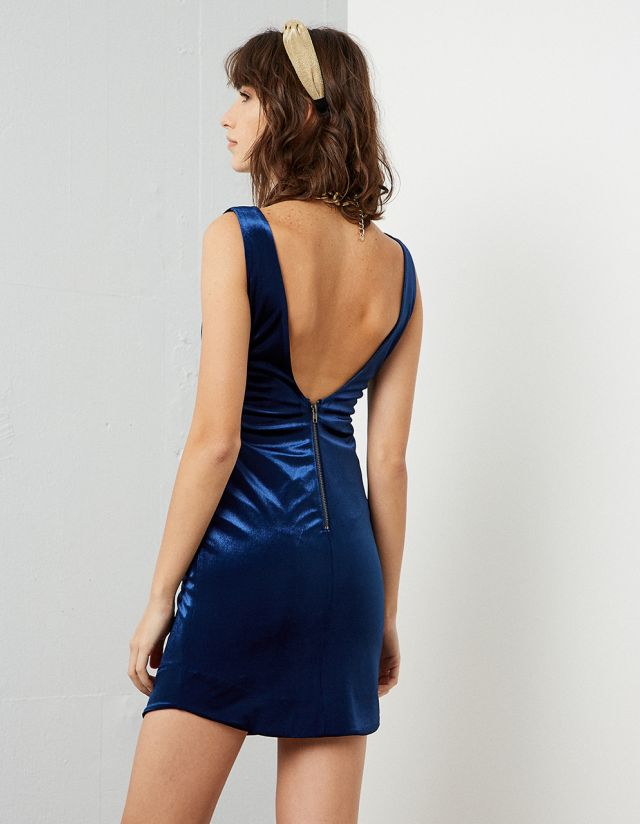 BODYCON VELVET DRESS