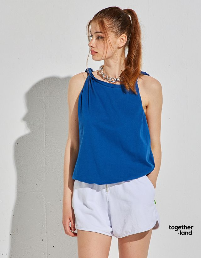 TOP WITH STRAP KNOT