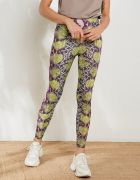 HIGH WAIST SNAKE PRINT LEGGINGS